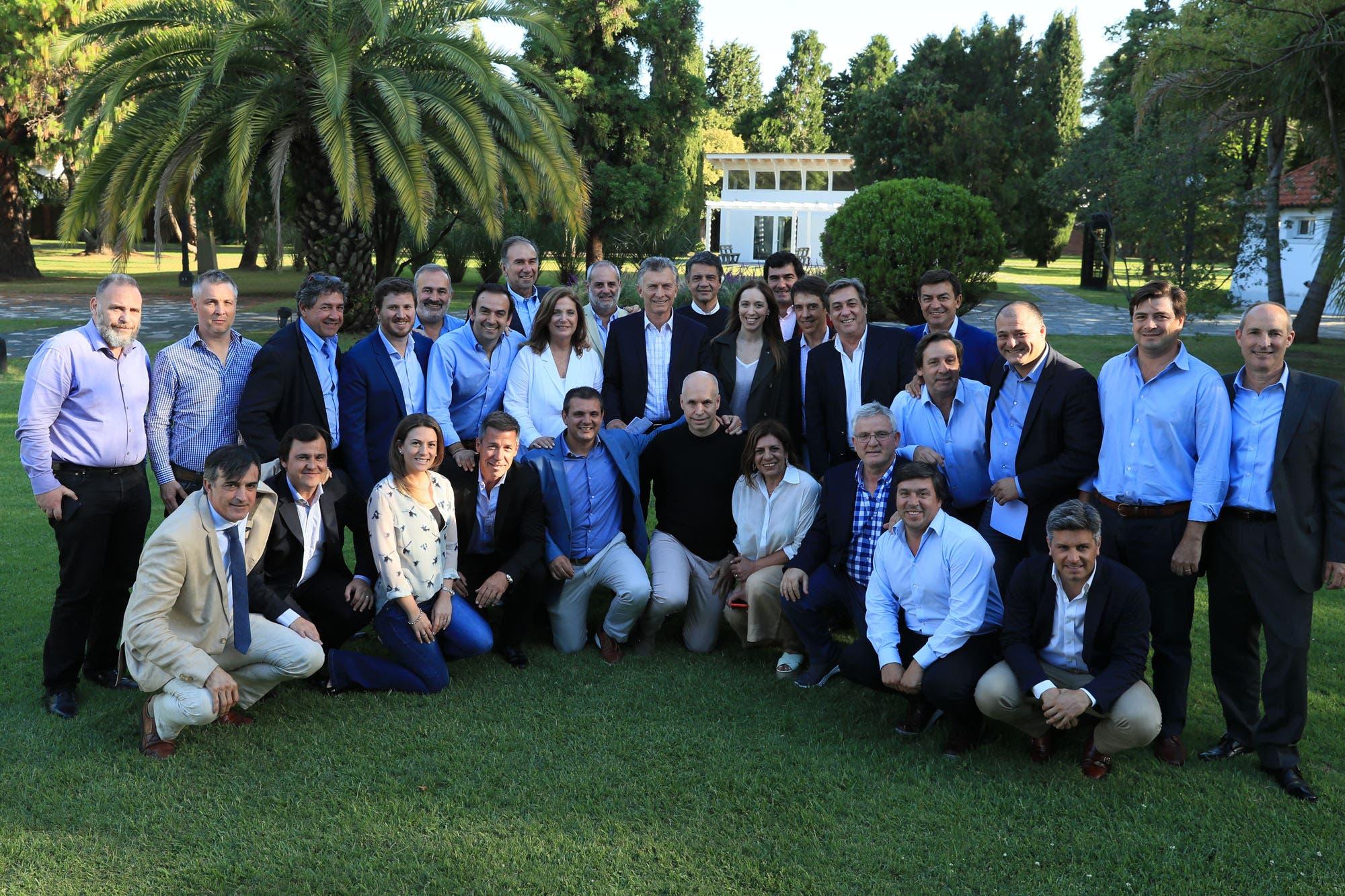 Pro reunió a referentes de todo el país en Olivos para debatir el futuro del partido
