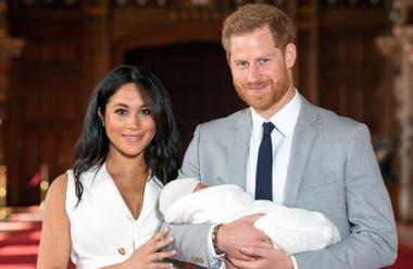 Meghan y Harry se convirtieron en padres en mayo de 2019