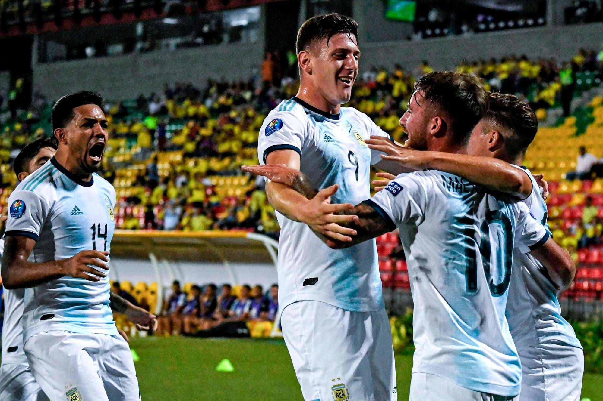 Preolímpico Sub 23. Argentina le gana con autoridad a Uruguay