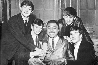 The Beatles, en su gira junto a Little Richard
