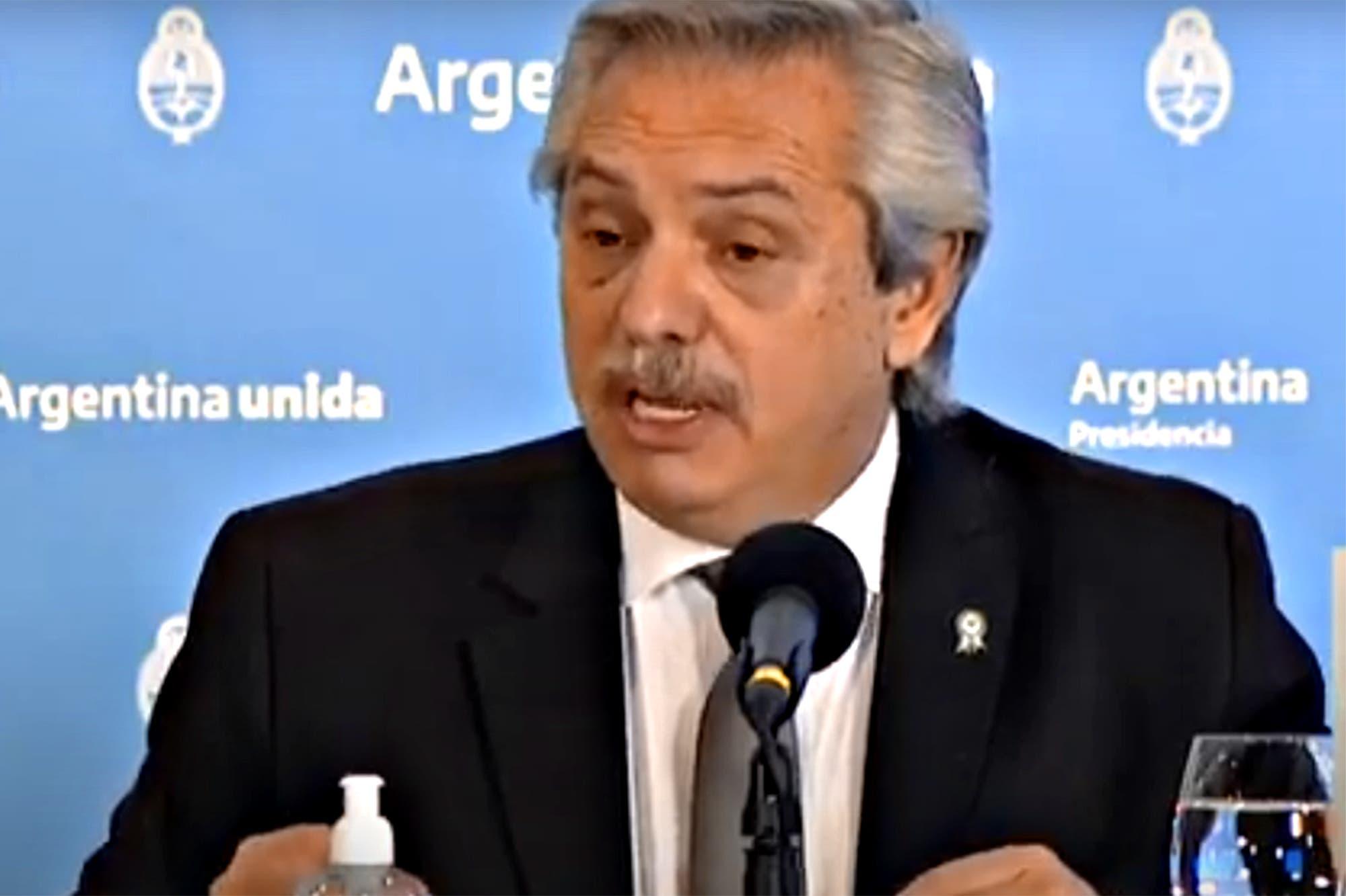Coronavirus en la Argentina: las frases más destacadas del discurso de Alberto Fernández