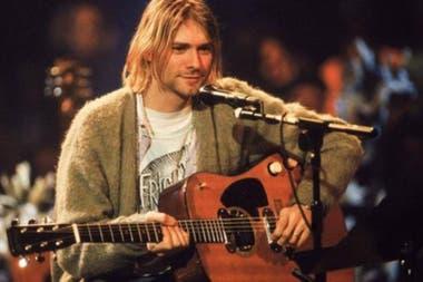 La guitarra que utilizó Kurt Cobain en el MTV Unplugged de Nirvana se acaba de subastar a un precio record