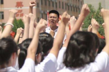 """El """"gaokao"""" es decisivo en la vida de un estudiante chino. (Hengshui, China, 2018)."""