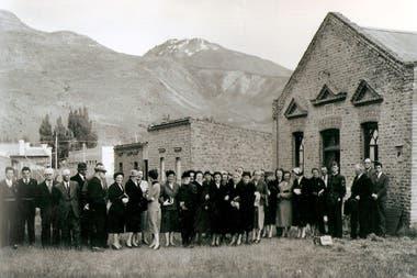 La capilla Seion, en Esquel, en el recuerdo