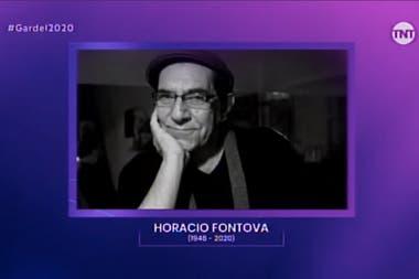 Horacio Fontova, en el homenaje a los músicos fallecidos en el último período