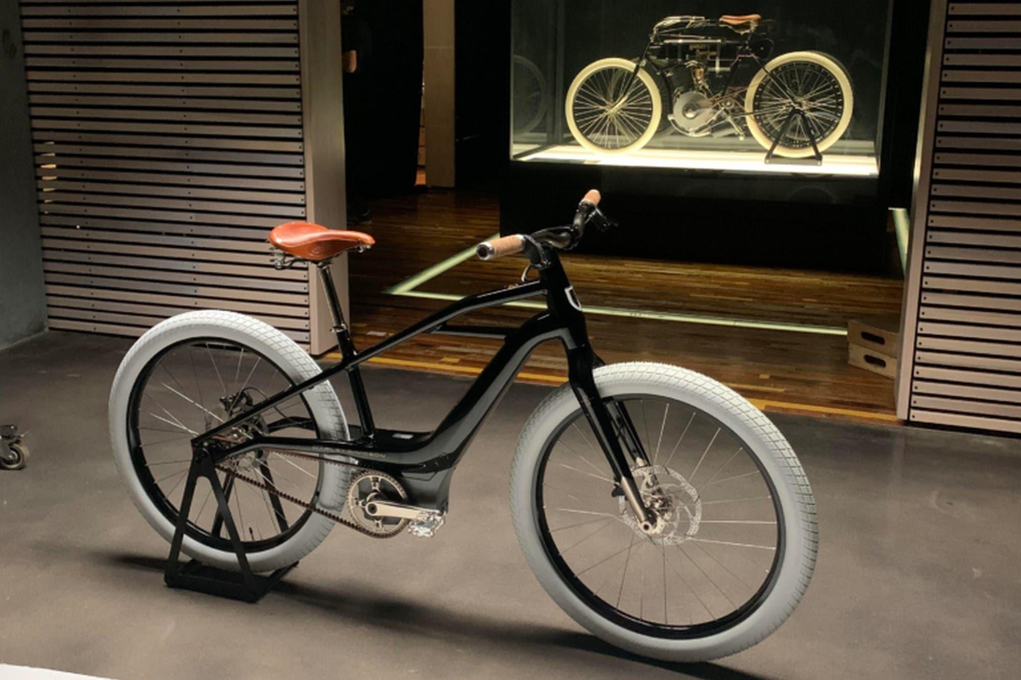 Serial 1: Harley-Davidson lanza su bicicleta eléctrica inspirada en su primera moto