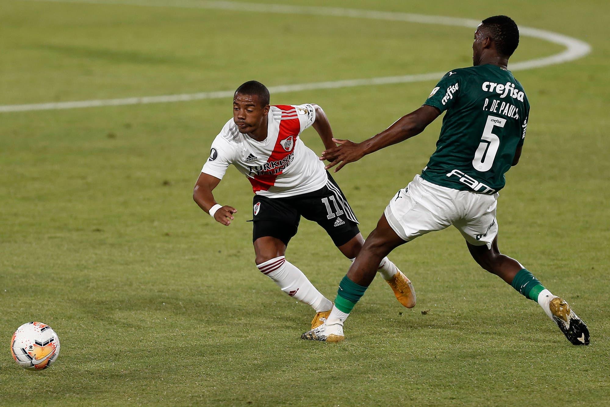 Palmeiras - River: horario, TV y formaciones de la semifinal de la Copa Libertadores