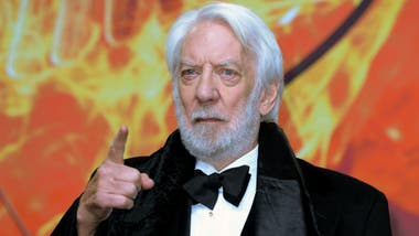 El actor canadiense Donald Sutherland recibirá el Oscar honorario en 2018