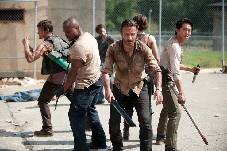 The Walking Dead puso a maratonear a los usuarios de Netflix