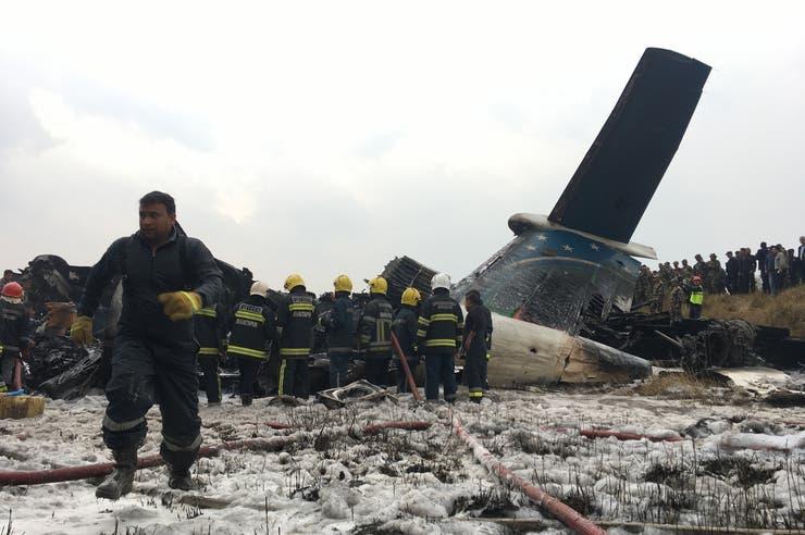 El vuelo de la empresa US-Bangla Airlines había partido de Bangladesh