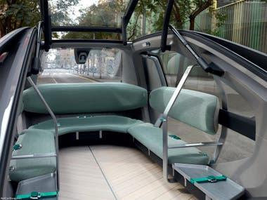 Interior del Renault EZ Go
