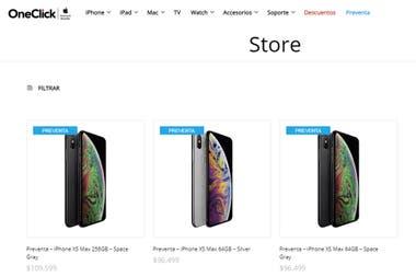 cd844a45a46 Los iPhone XS y iPhone XS Max de Apple llegan a la Argentina en ...
