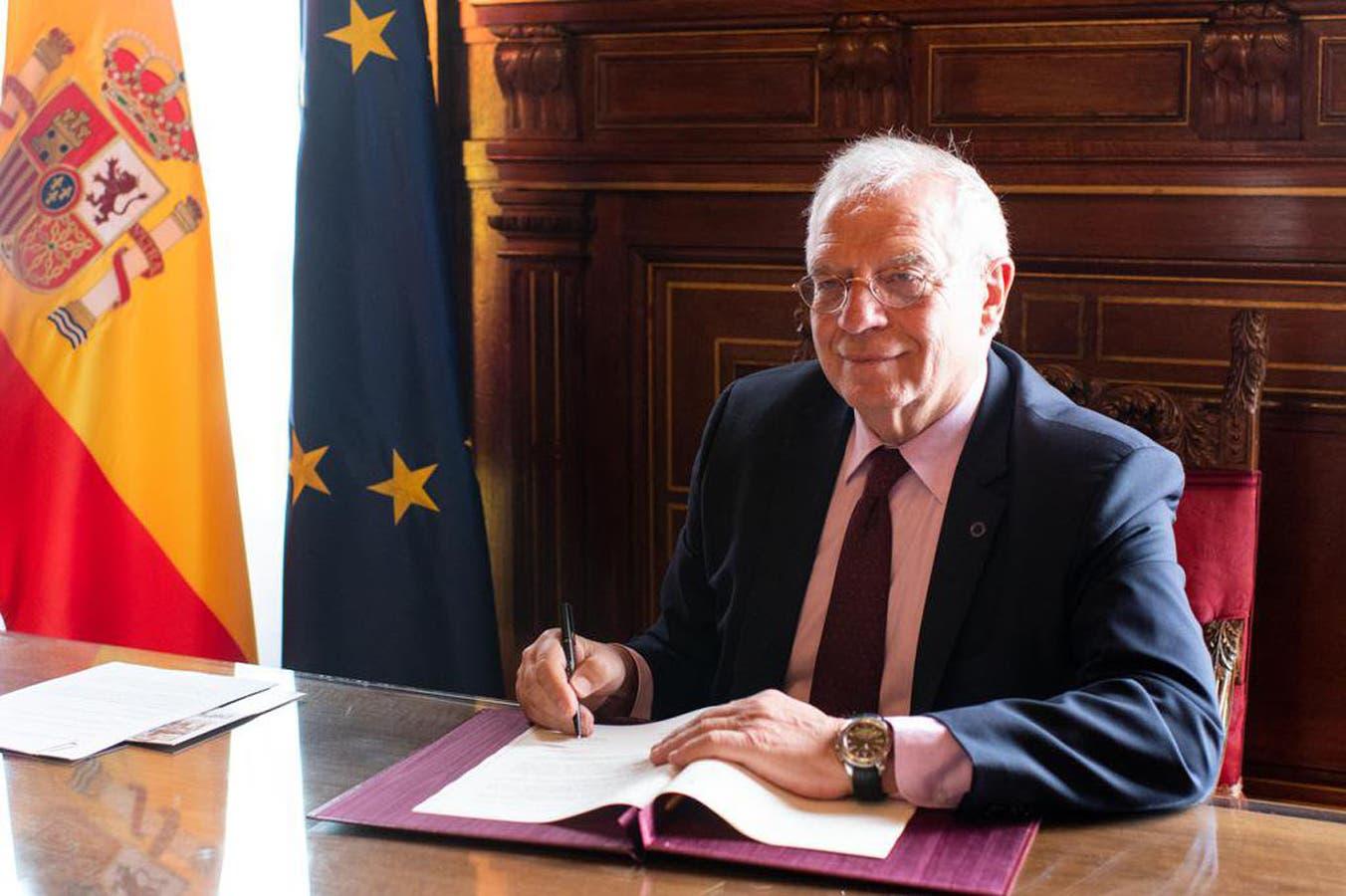 """""""Nos preocupan las noticias sobre un despliegue de tropas estadounidenses, hay que evitar una escalada militar"""", dijo el ministro de Exteriores, Josep Borrell"""