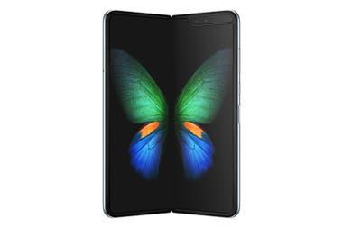 El Samsung Galaxy Fold tiene una pantalla interna de 7,3 pulgadas que se dobla, y otra pantalla externa