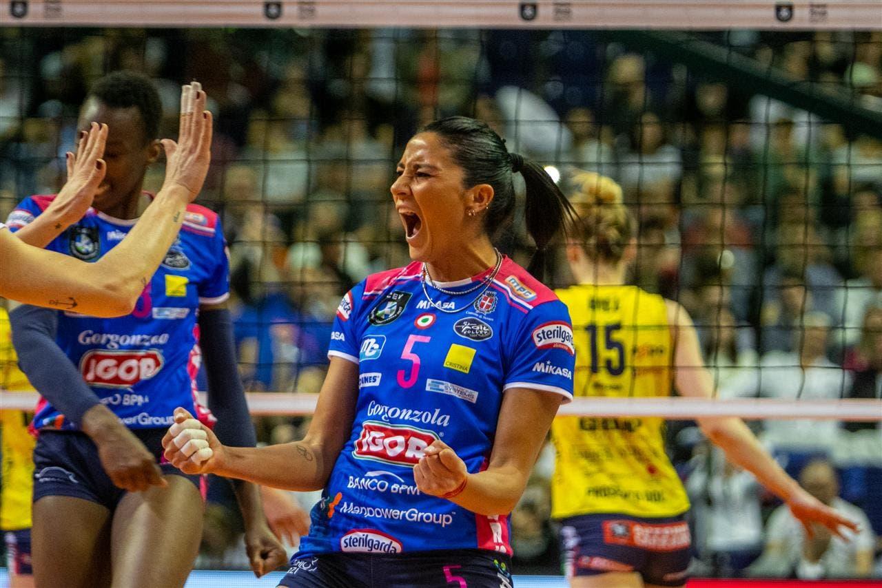Las chicas del voleibol: Yamila Nizetich es campeona europea y Elina Rodríguez fue finalista