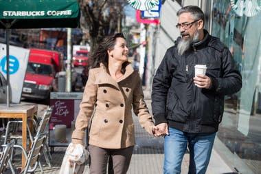 Silvina Prieto y Gerardo Giampietro empezaron su relación por Tinder
