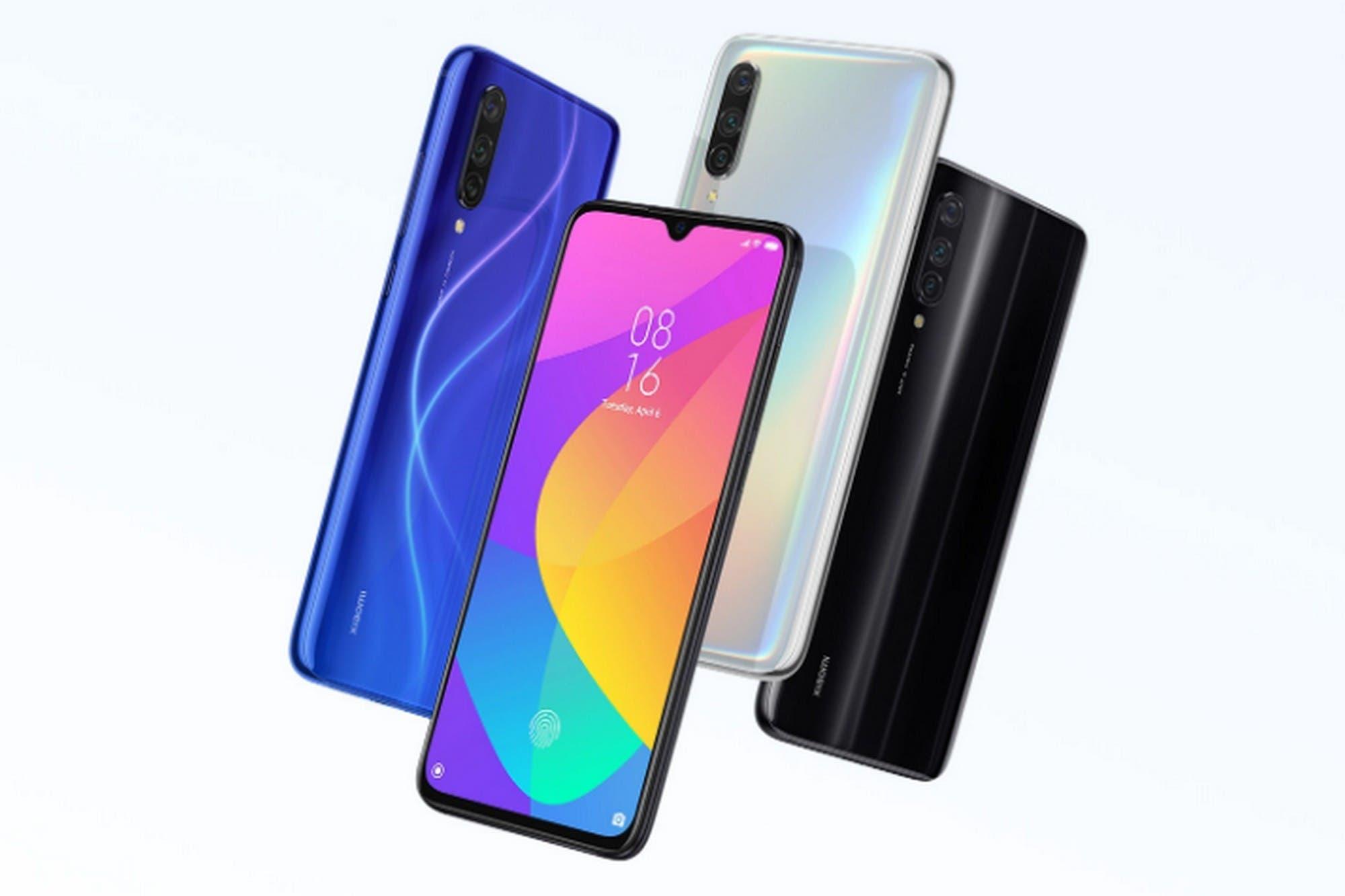 Xiaomi lanzó su teléfono Mi 9 Lite con triple cámara y lector de huellas en pantalla