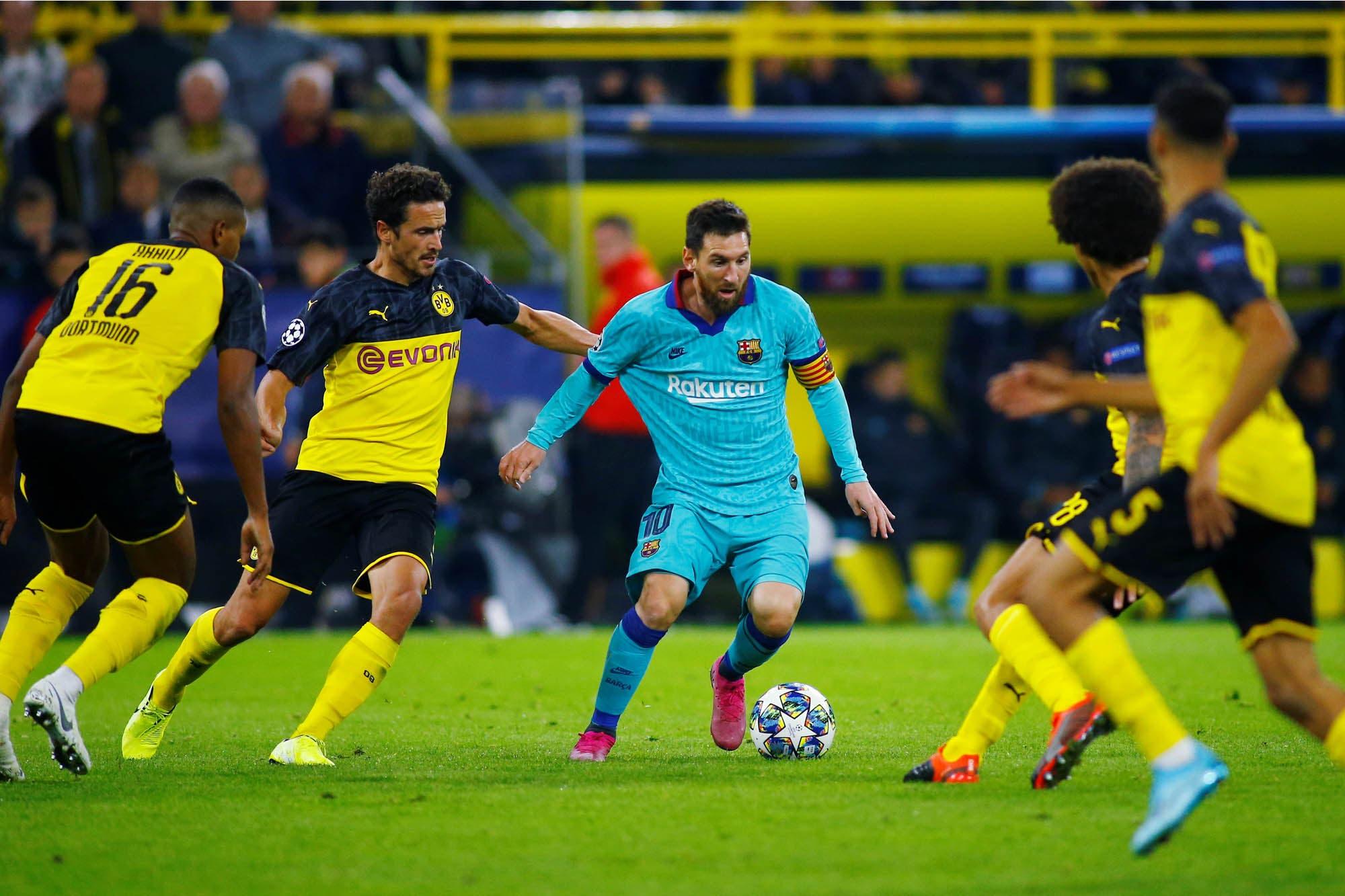 Champions League: Lionel Messi se pone en movimiento en un Barcelona que no arranca