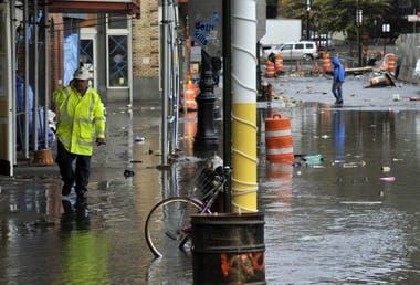 Los estragos del agua se dejan ver en distintos sectores de la ciudad
