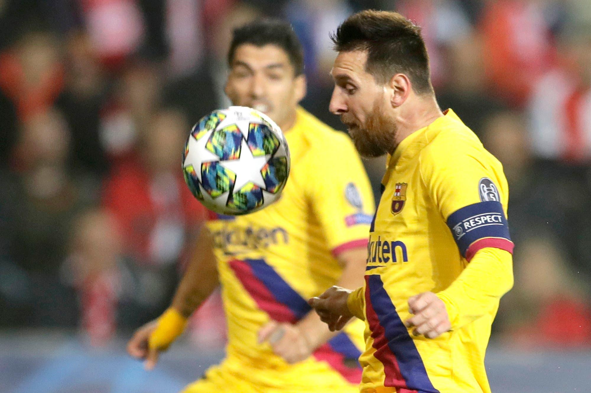 Champions League: Messi alcanzó otro récord con un gol en el triunfo de Barcelona