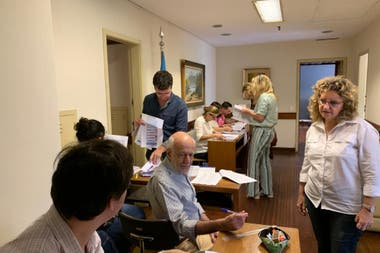 Los votantes argentinos en Brasil