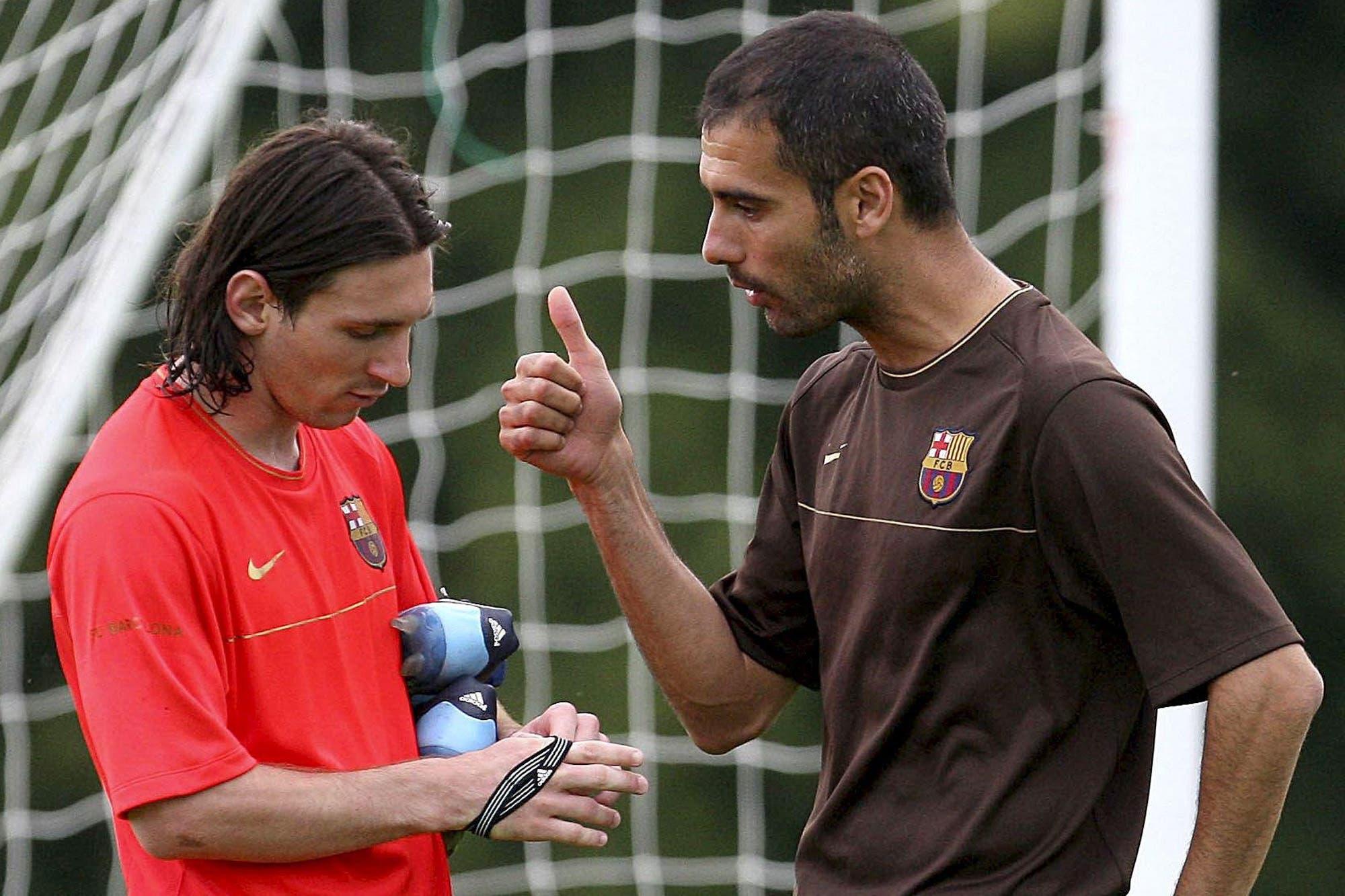 Descreído: Pep Guardiola contó qué pensó el día en que conoció a Lionel Messi
