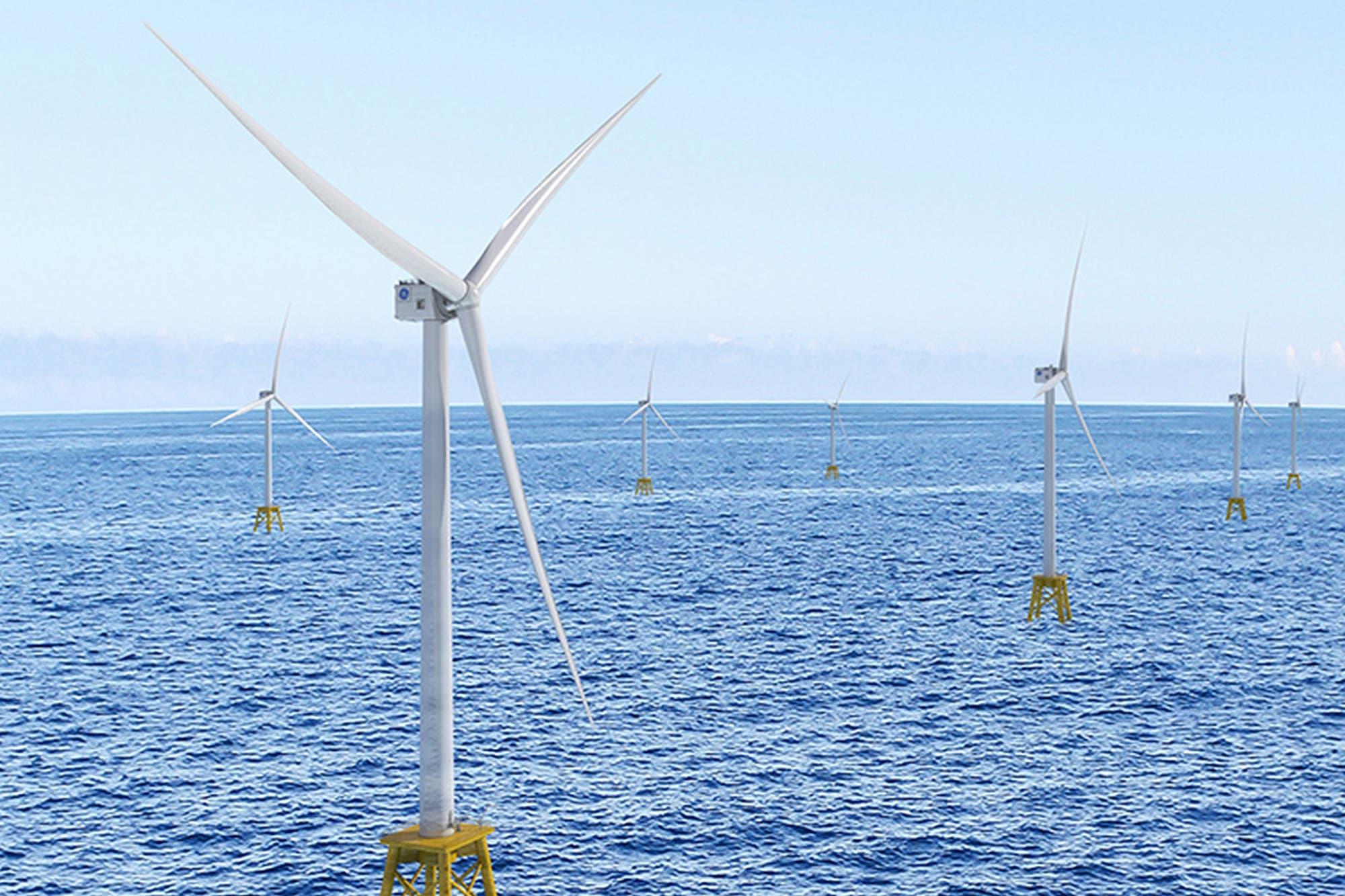 Haliade-X: este es el generador eólico más grande del mundo con aspas de 107 metros
