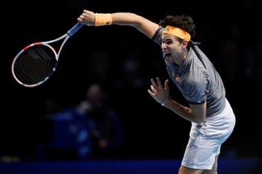 Thiem, entrenado por el chileno Nicolás Massú, maduró y jugó con agresividad ante Djokovic, en el O2 Arena de Londres.