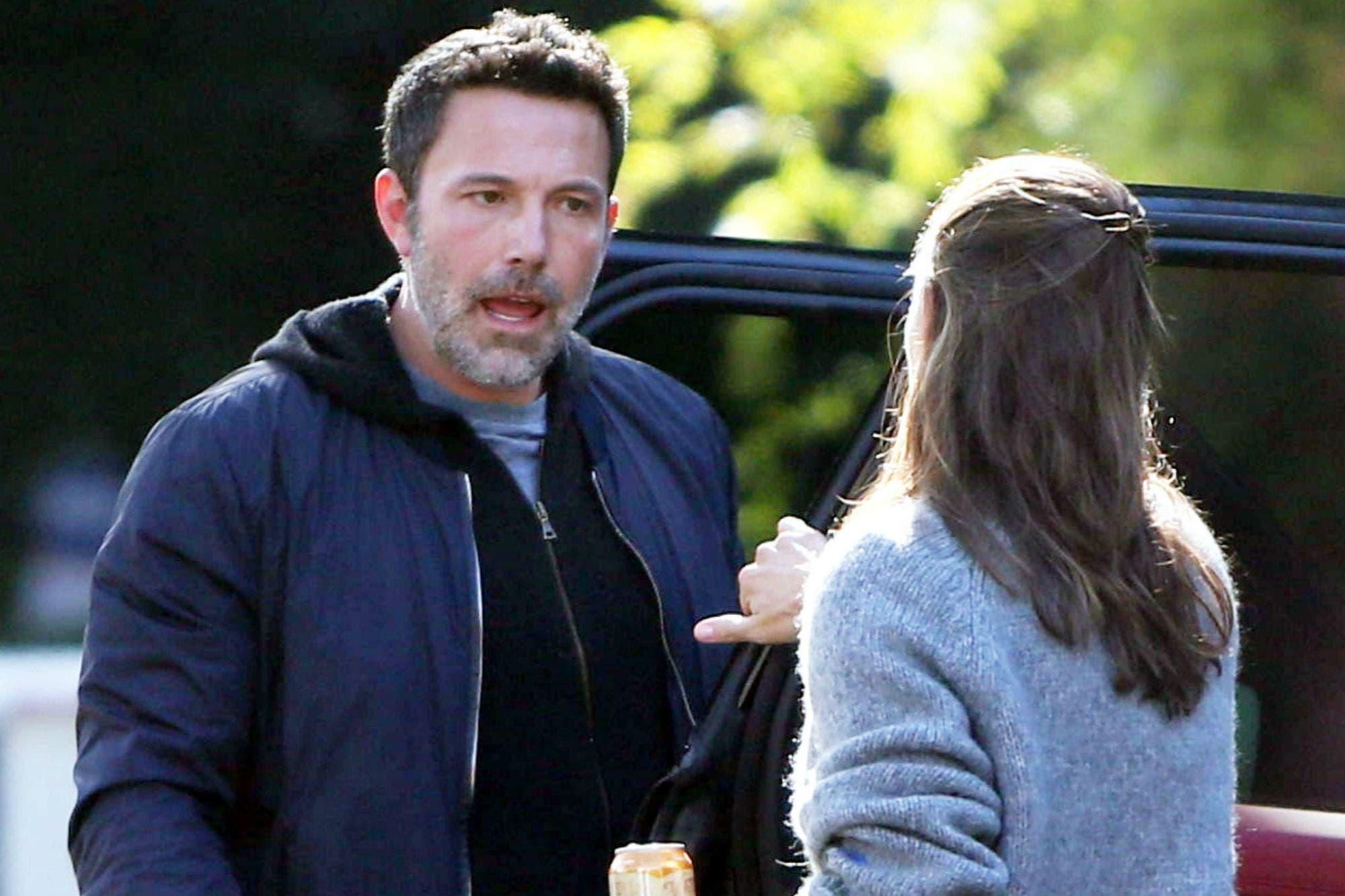 La fuerte discusión entre Ben Affleck y Jennifer Garner que captaron las cámaras