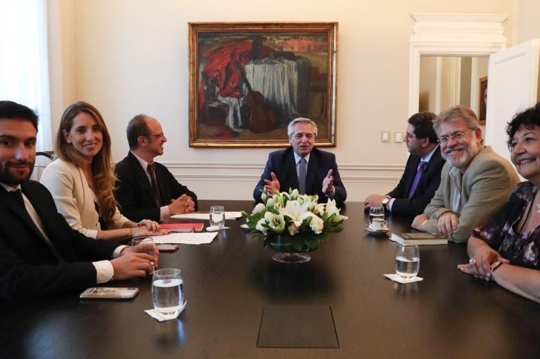 Quiénes son: Fernández se reunió con su Consejo Asesor de intelectuales