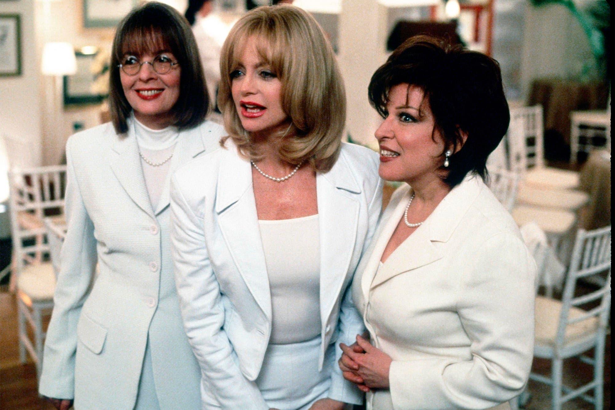 Un cuarto de siglo después: Diane Keaton, Goldie Hawn y Bette Midler, juntas de nuevo