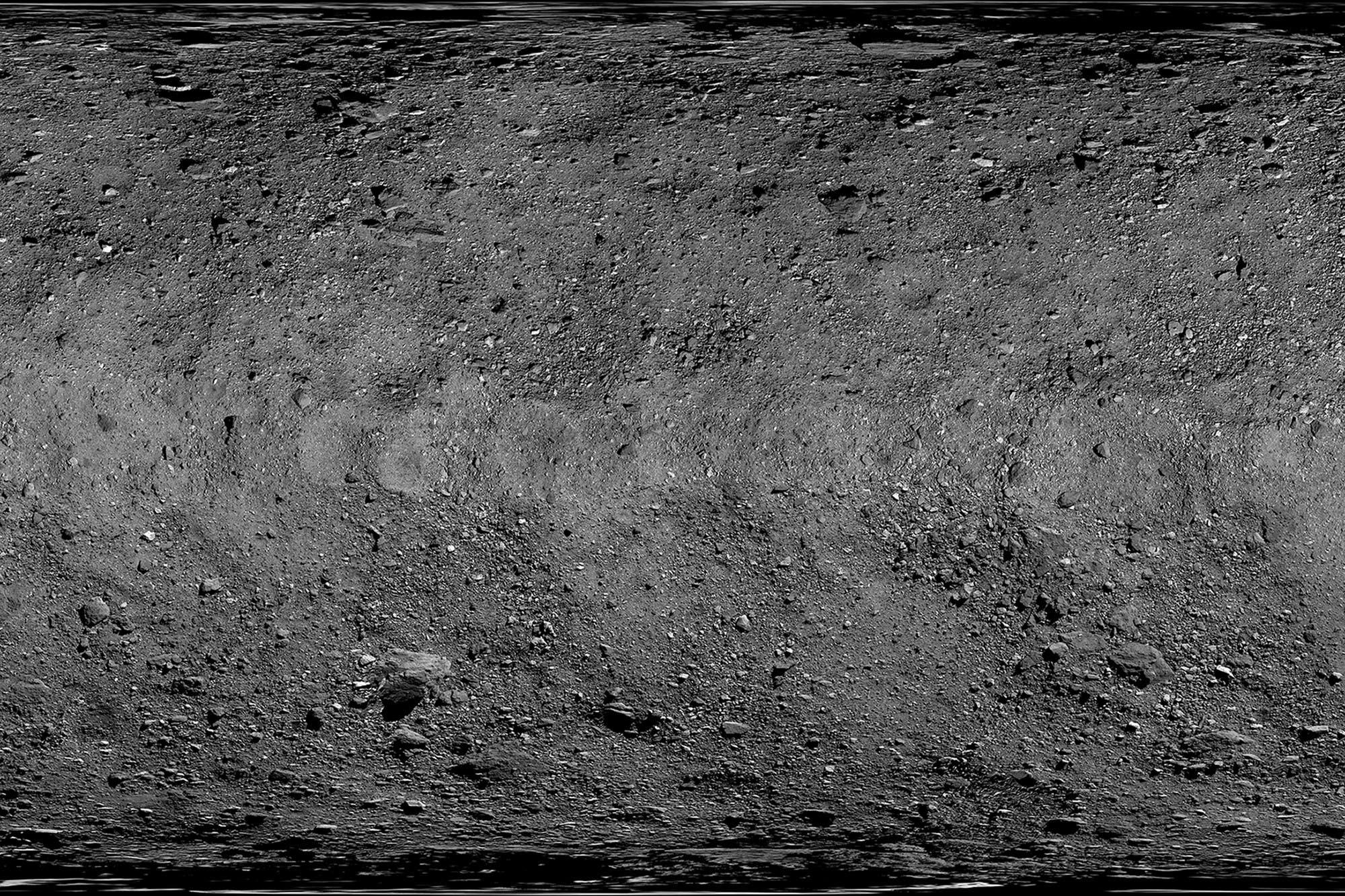 Esta es la impresionante foto de la NASA que creó un mapa digital del asteroide Bennu
