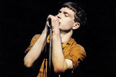 Ian Curtis de Joy Division