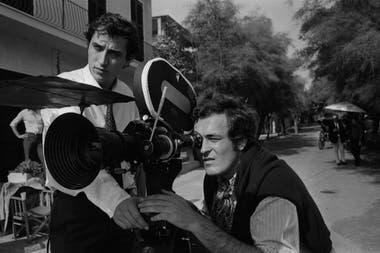 Bernardo Bertolucci y Vittorio Storaro en el rodaje de El conformista
