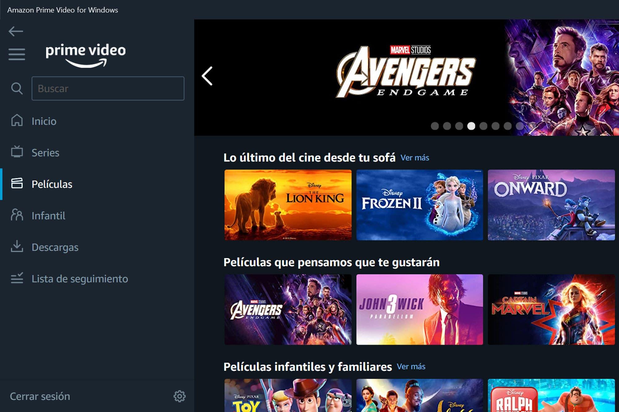 Prime Video: Amazon ya tiene su aplicación oficial para Windows 10 con reproducción offline
