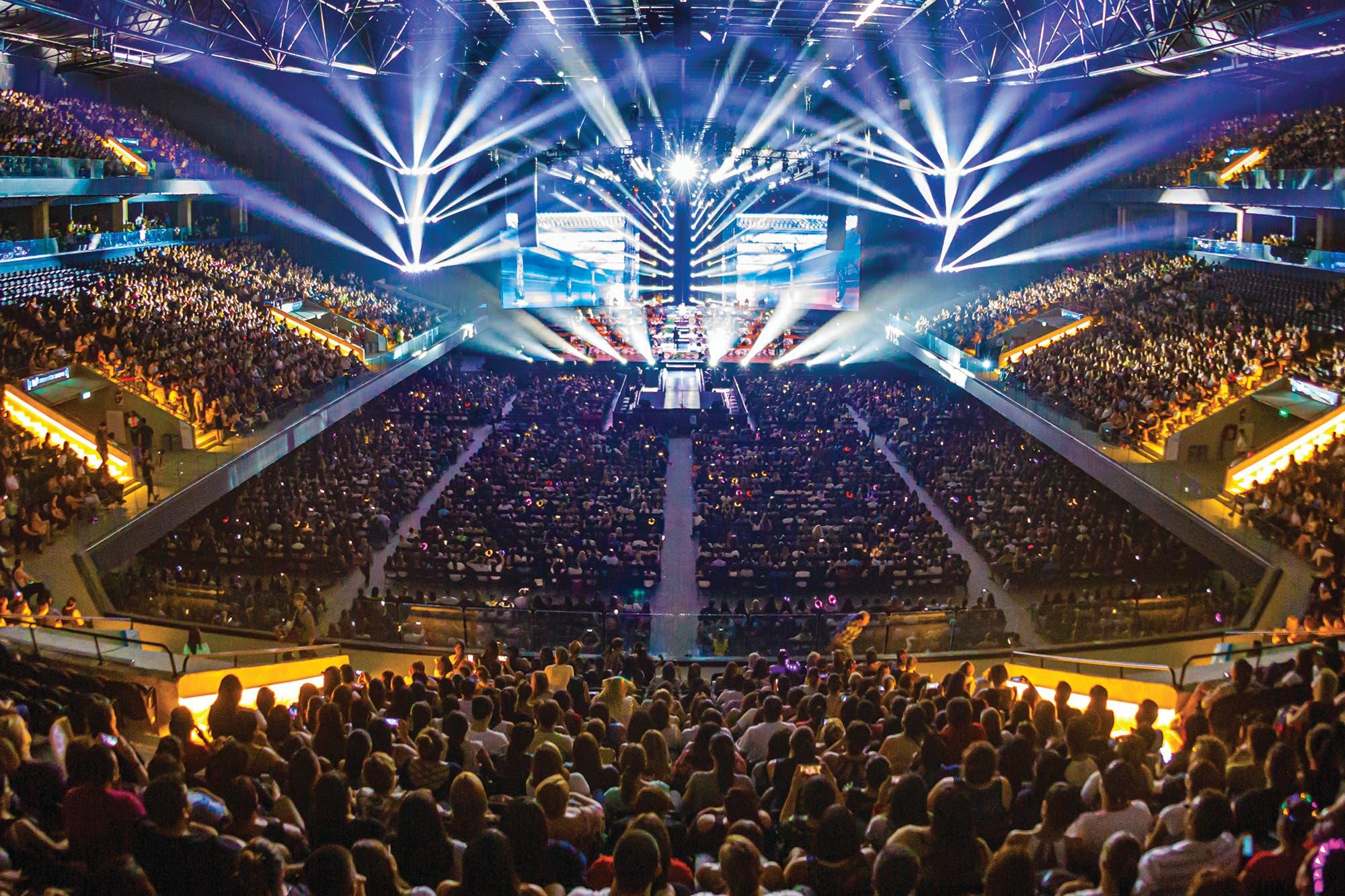 Movistar Arena presentó su sonido inmersivo y proyecta la vuelta del público en 2021