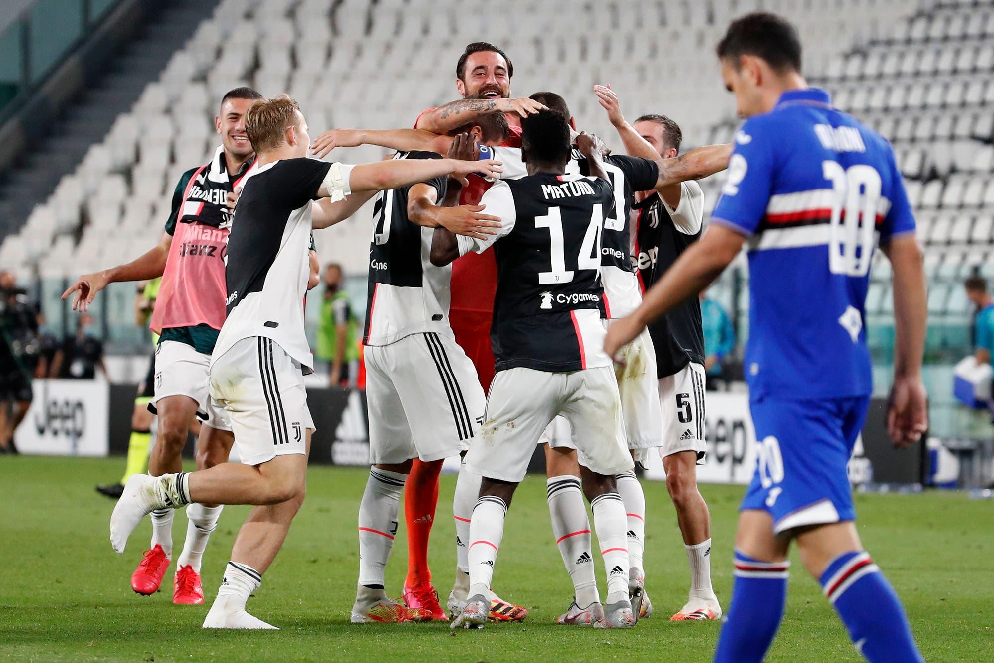 Juventus-Sampdoria, Serie A de Italia: el equipo de Paulo Dybala y Gonzalo Higuaín ganó y conquistó su noveno Scudetto seguido