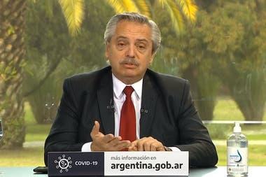 """El presidente Alberto Fernández insistió en que """"la cuarentena no existe"""""""