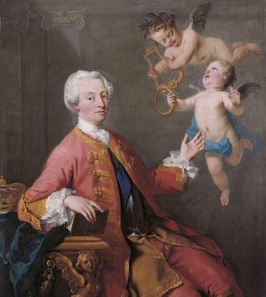 Éste era el escogido por la duquesa de Marlborough: el futuro rey de Inglaterra (que no fue, pues murió antes que su padre), Federico, príncipe de Gales.