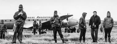 El comando argentino se negó a entregarse; fueron acogidos por un cura y regresaron al día siguiente, detenidos