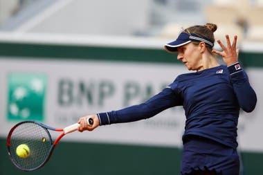 Roland Garros: Nadia Podoroska, en los octavos de final, frente a Krejcikova
