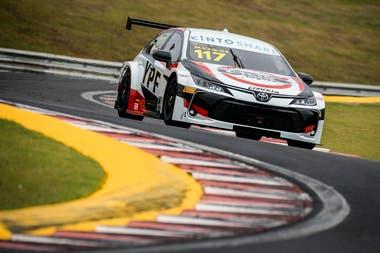 Matias Rossi marcó en el circuito de Velo Citta el primer podio en Stock Car