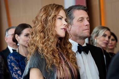 Nicole Kidman y Hugh Grant en el primer episodio de The Undoing