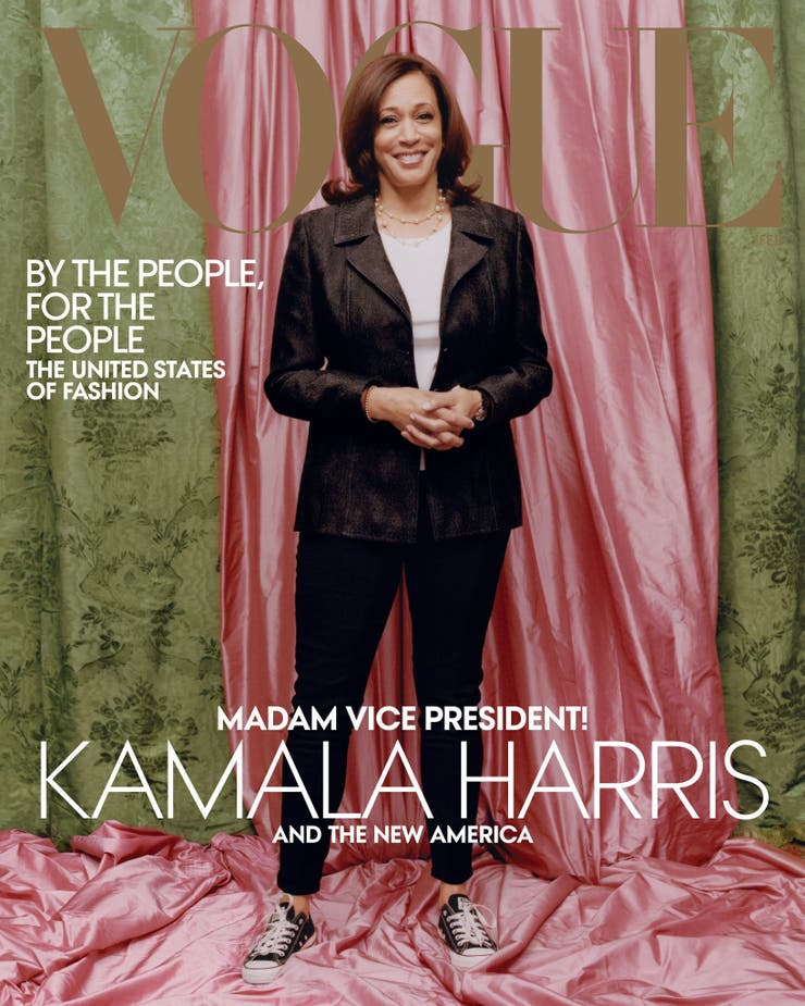 Kamala Harris, Vogue