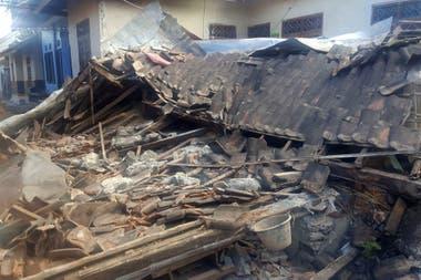 Muchas viviendas quedaron reducidas a una montaña de escombros