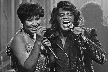 11 de enero de 1987, con James Brown