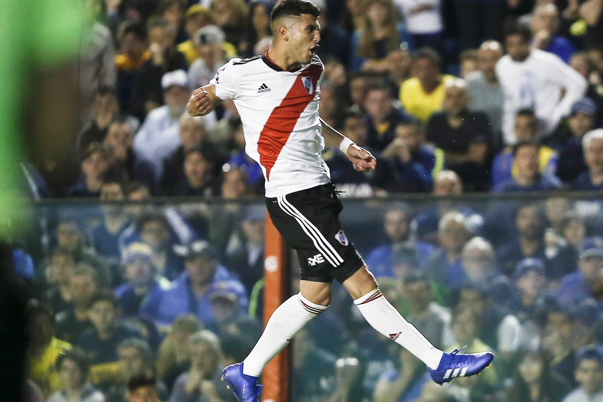 Exequiel Palacios se hace camino en River al ritmo de Kroos, Modric e Iniesta