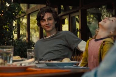 Timothee Chalamet en Beautiful Boy