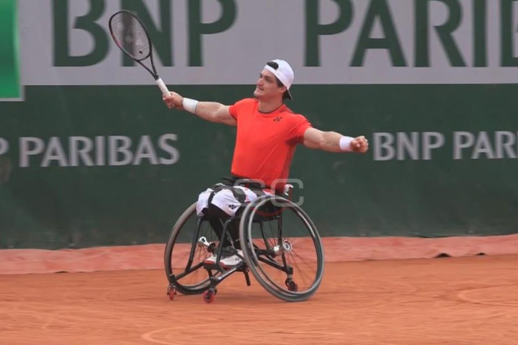 Roland Garros: Gustavo Fernández es finalista y busca un nuevo título en París