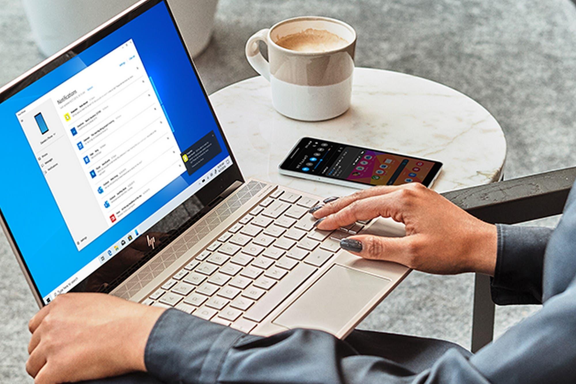 Windows 10 ahora permite ver las notificaciones y los contenidos de un teléfono Android
